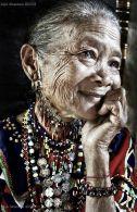 beauty older woman